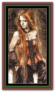 """""""Gothic Red"""" Witchykitt Designs"""