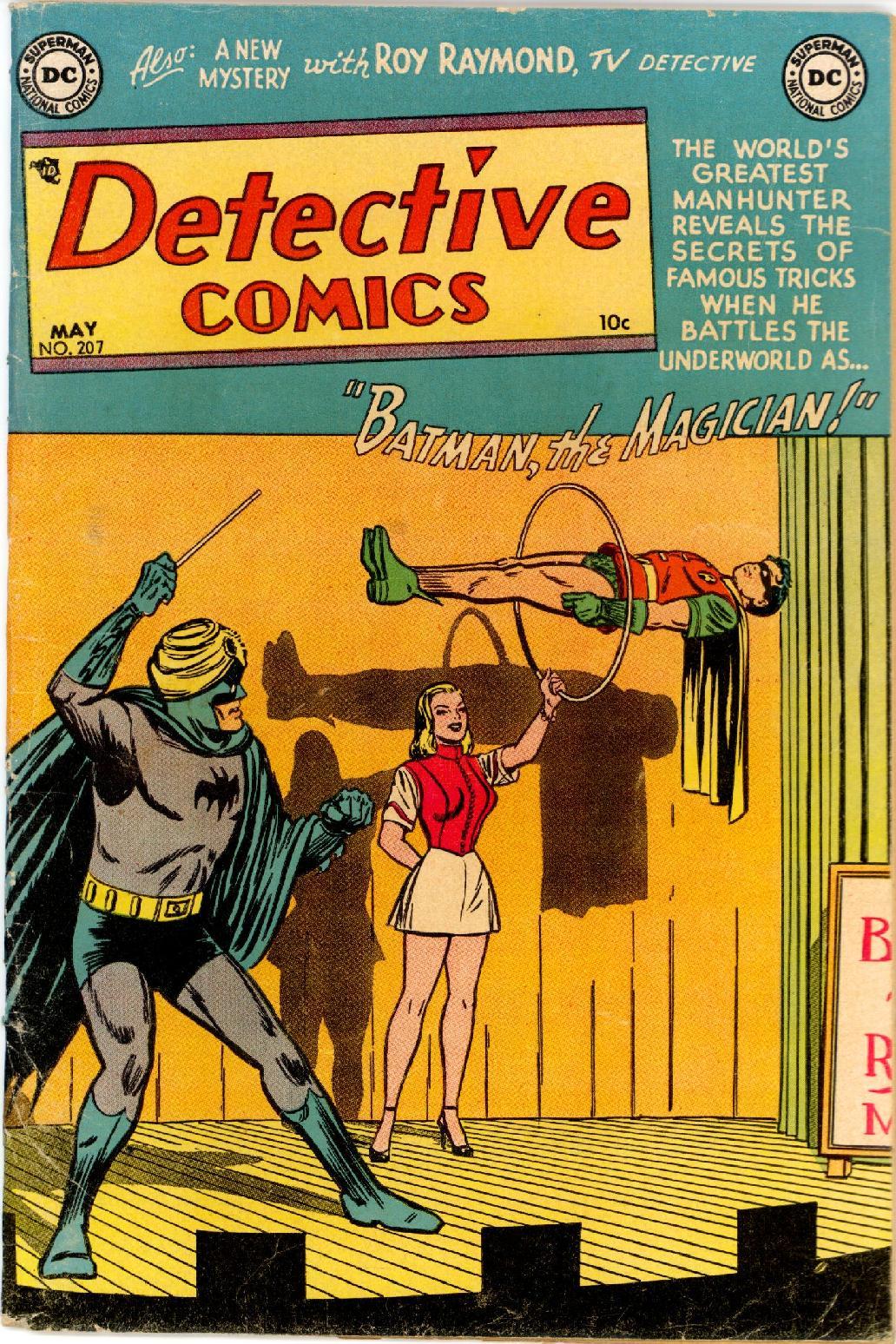 Detective Comics (1937) 207 Page 0