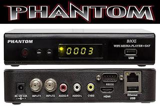 Nova atualização para phantom Bioz, correção 58w
