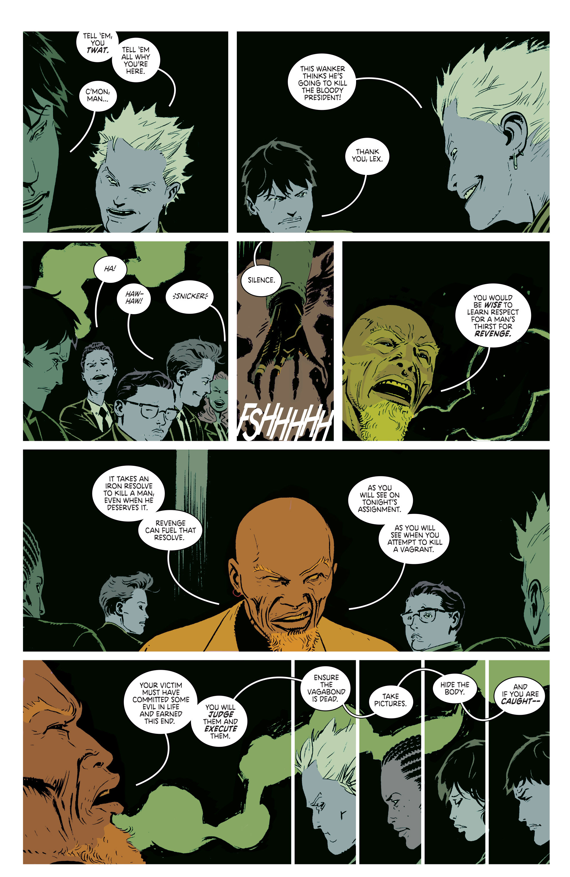 Read online Deadly Class comic -  Issue #2 - 23