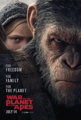 Póster de 'La Guerra del Planeta de los Simios'
