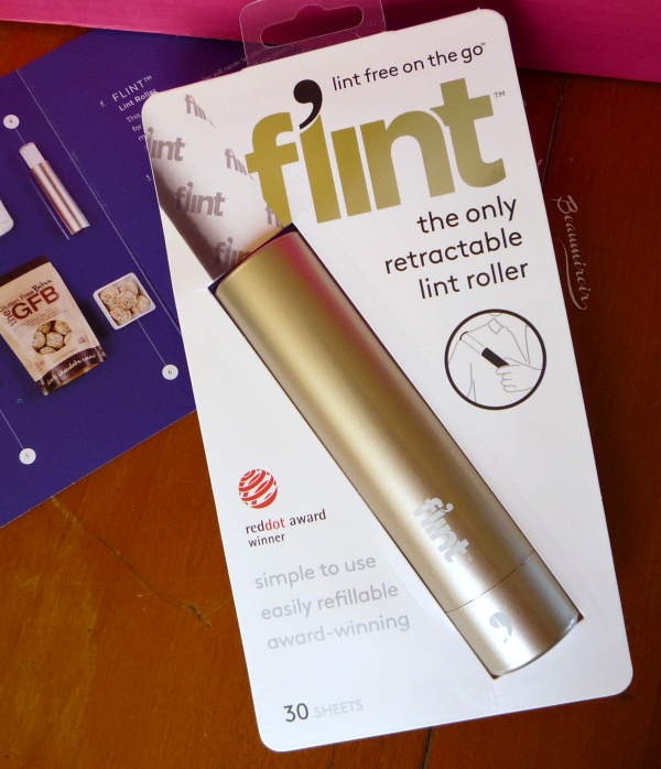 Flint the only retractable lint roller