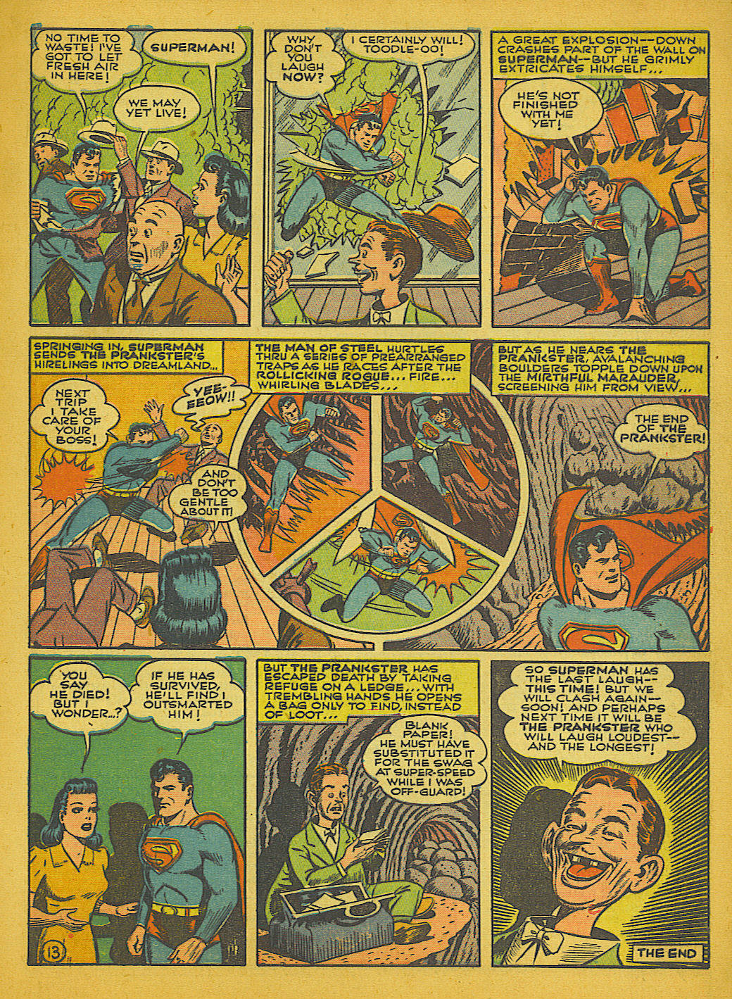 Read online Action Comics (1938) comic -  Issue #51 - 16