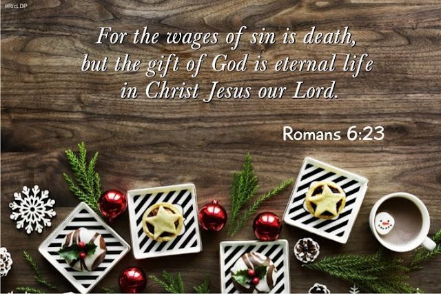 Romans 6:23 picture Bible verse