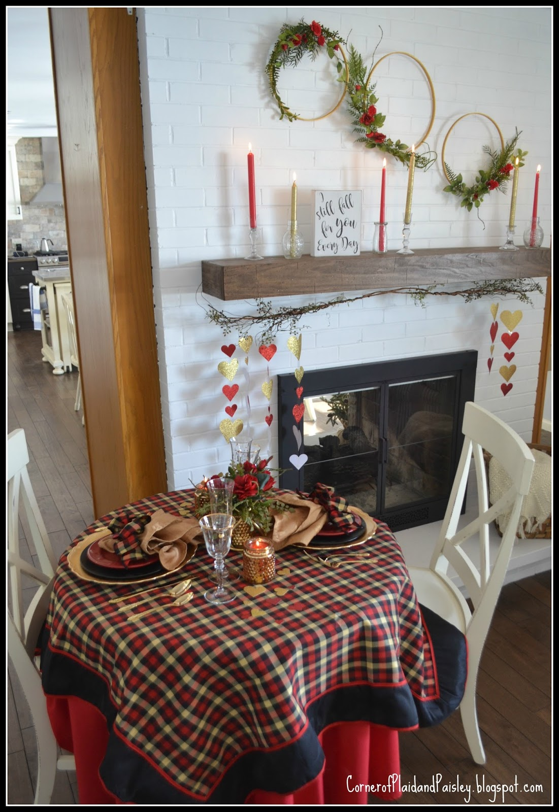 setting table tablescape rustic two romantic and for exquisitely dinner fall autumn
