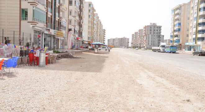 Diyarbakır Şengal Caddesindeki çalışmalar 2 yıldır bitirilemedi