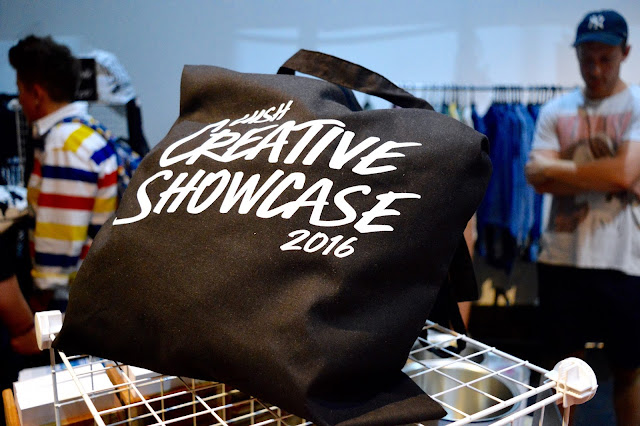 Lush Creative Showcase tote bag