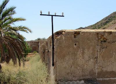 Antiguo pueblo minero de Rodalquilar en Cabo de Gata