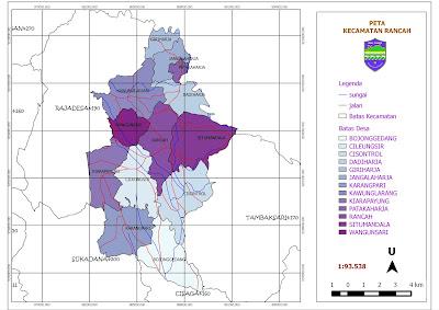 Profil Kecamatan Rancah