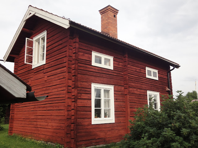 Matsgården i Gagnef. Farmor Elsas barndomshem