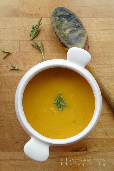 Butternut Squash and butterbean soup