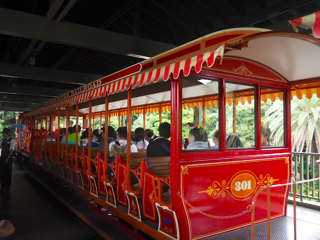 Western River Railroad, Tokyo Disneyland, Japan