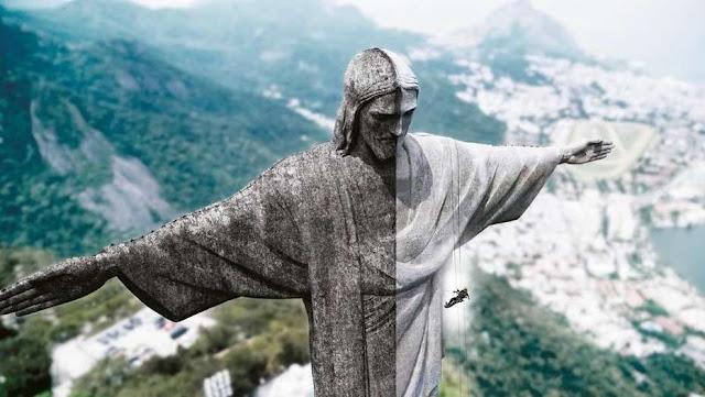 El Cristo Redentor, en Río de Janeiro, Brasil