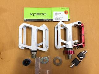 Pedal Xpedo XCF 10 bisa buat kunci sepeda