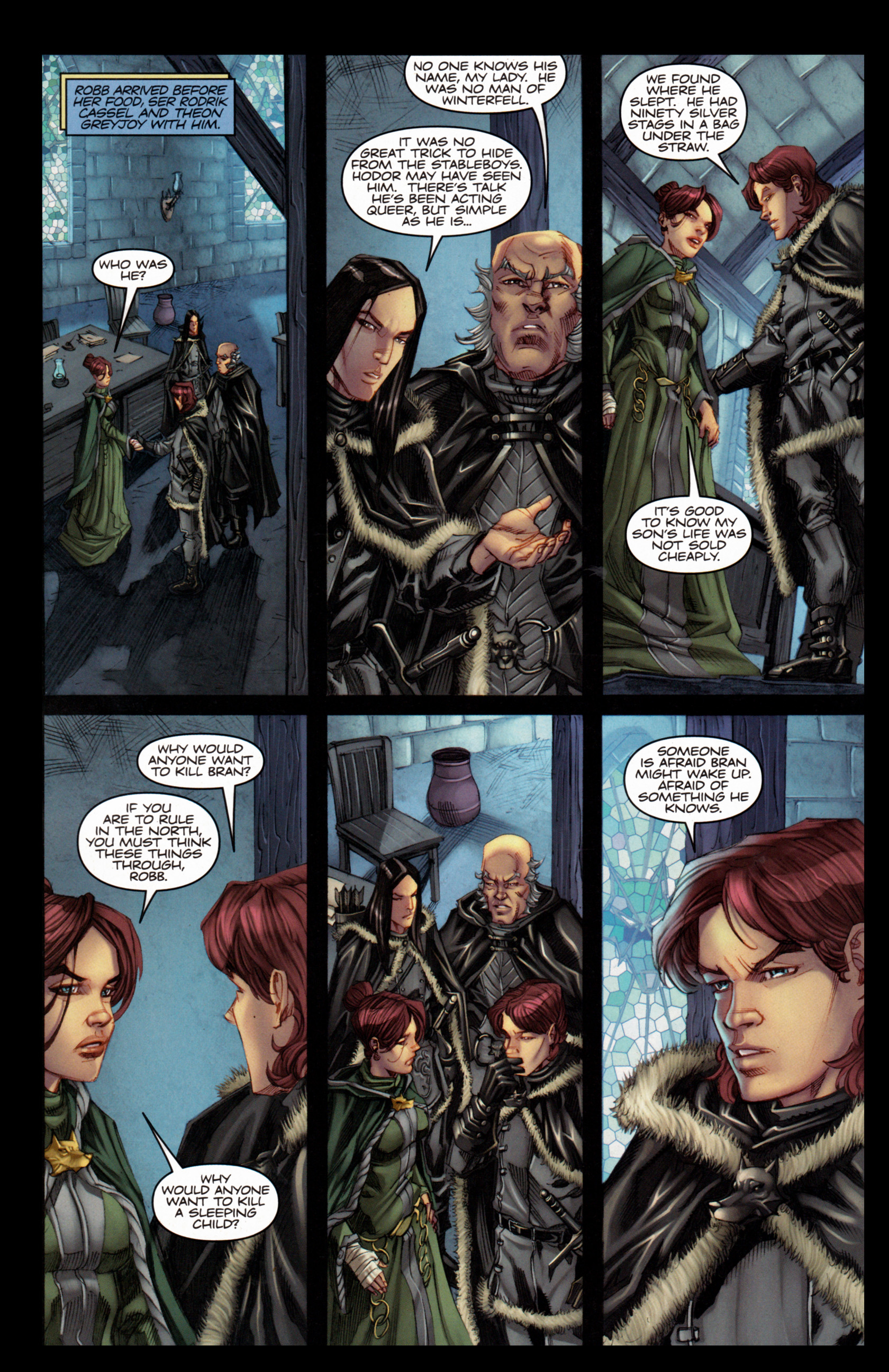Read online A Game Of Thrones comic -  Issue #4 - 28