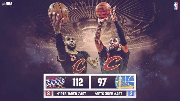 Game 5 Results: Cavaliers vs. Warriors - 2016 NBA Finals