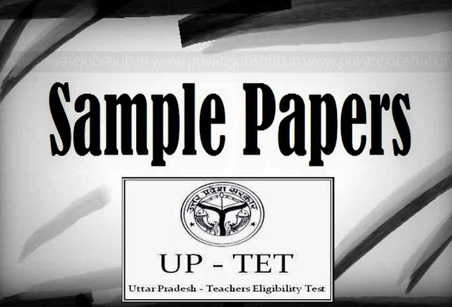 UPTET Sample Paper