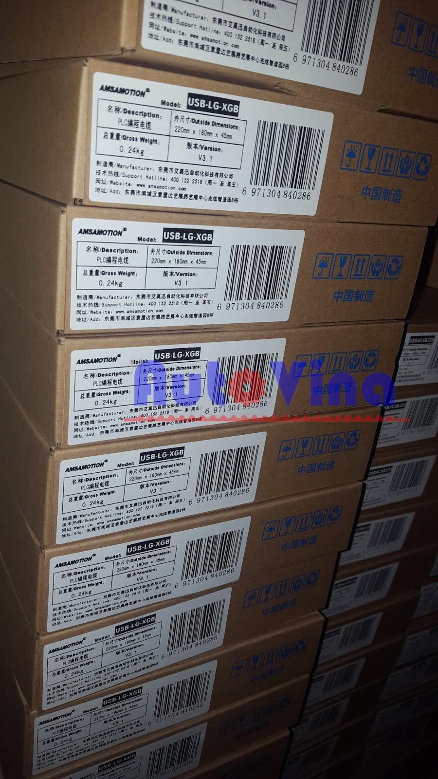 Các loại Cable kết nối lập trình PLC LG trong kho công ty TNHH Cơ Điện Auto Vina