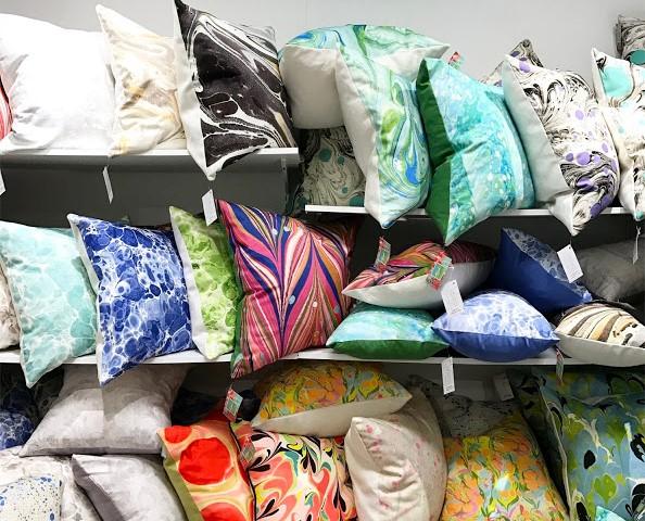 Jill Seale Design Studio Marble Pillows