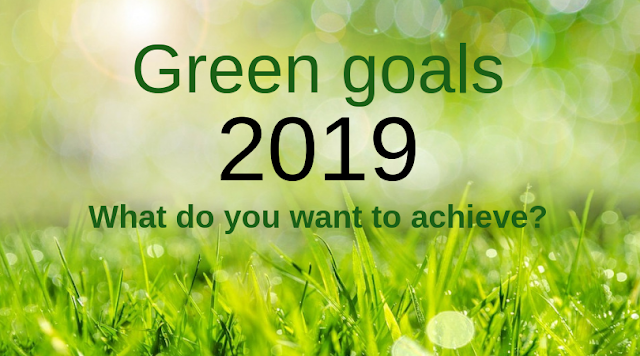 What are your 2019 Green Goals?