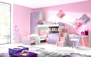kamar tidur anak mewah