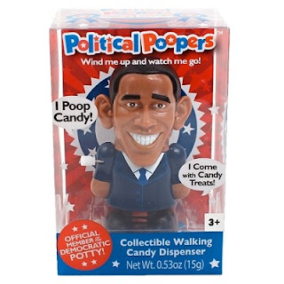Toys & Hobbies never Opened 1970-now Political Pooper Barack Obama Collectible Walking Candy Dispenser