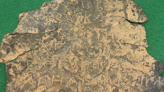 Iberian inscription seized in southern Spain found to be fake