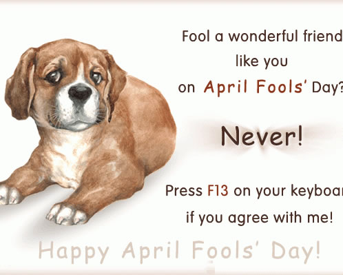 April fool's day greetings | Happy april fool greetings card for men and women