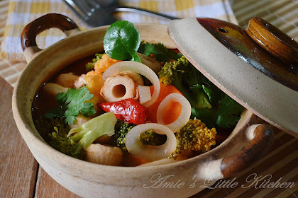 Resepi Tomyam Sayur Campur