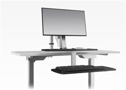 ESI Single Screen ErgoRise Sit To Stand Station