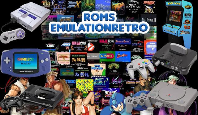 Pacote de Roms para EmulationStation/RetroArch - Download