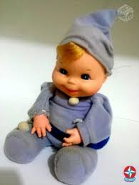 Atelie Debora Alves Feijãozinho de crochê (crocheted baby boy)