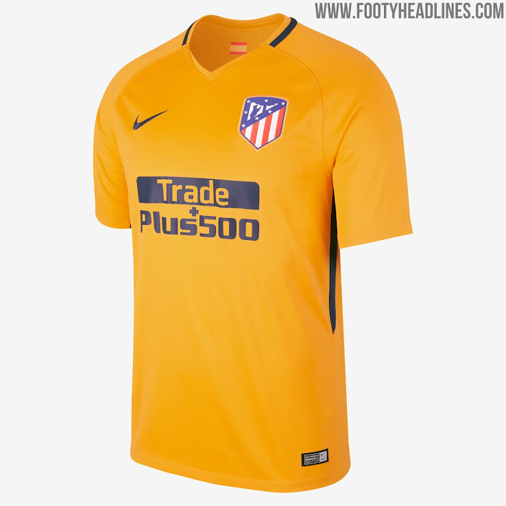 c433b7d78 Atlético Madrid 17-18 Away Kit Released - Footy Headlines
