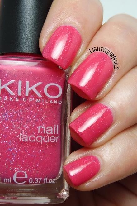 Smalto Kiko 504 Rosa Glassa Perlato nail polish #kiko #kiko504 #nails #unghie #lightyournails