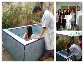 Arti Baptisan Air Menurut Alkitab