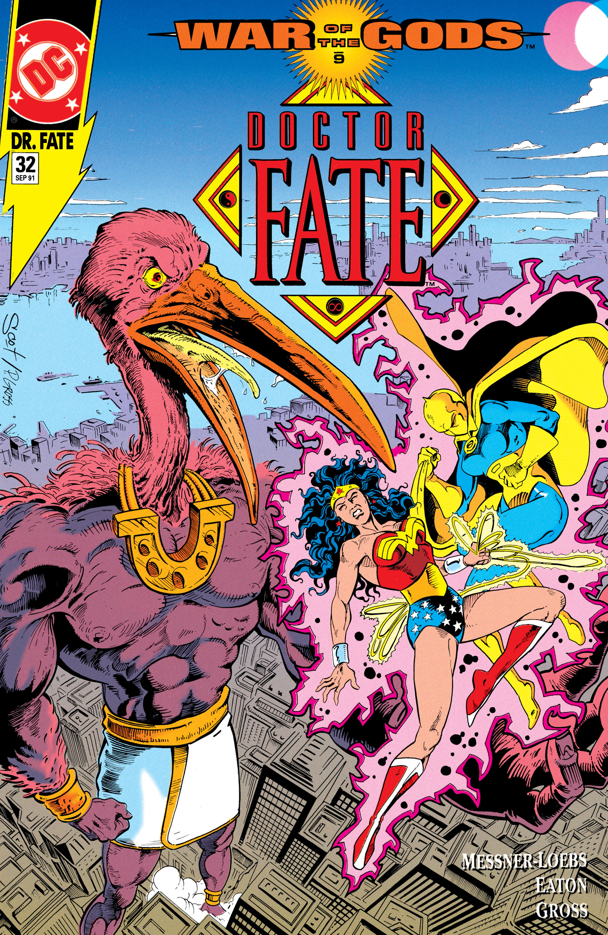 Doctor Fate (1988) 32 Page 1