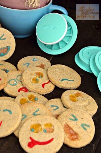 como preparar galletas naranja canela