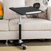 table de lit ordinateur portable pour travailler sur le lit ou le canapé