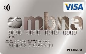MBNA Platinum Credit Card