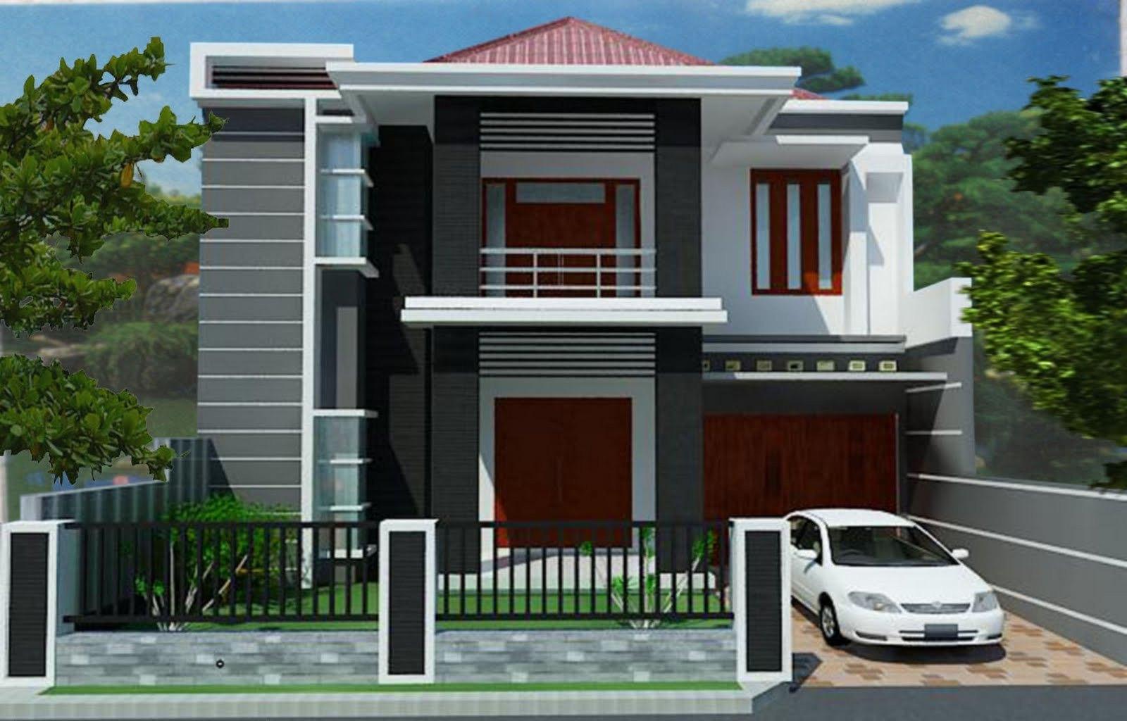 Desain Rumah Minimalis Gado Gado