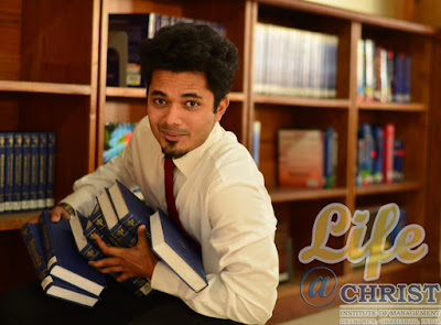 college life library happy emotional PG graduatate