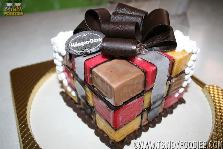 Häagen Dazs Christmas Ice Cream Cake 1 150 Php