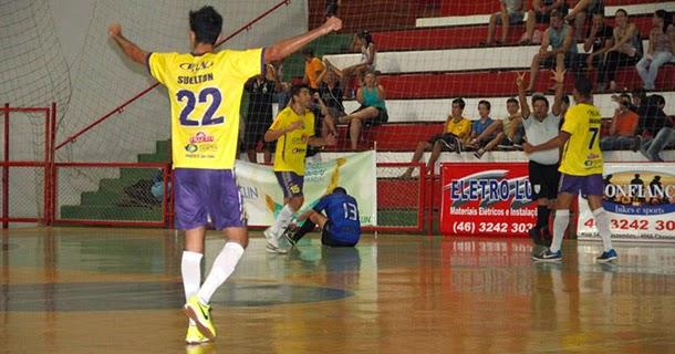 52138ba3ae Na primeira rodada da Chave Ouro do Campeonato Paranaense de Futsal