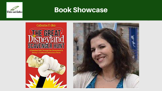 Book Showcase: The Great Disneyland Scavenger Hunt by Catherine F. Olen @Mousehangover @iReadBookTours