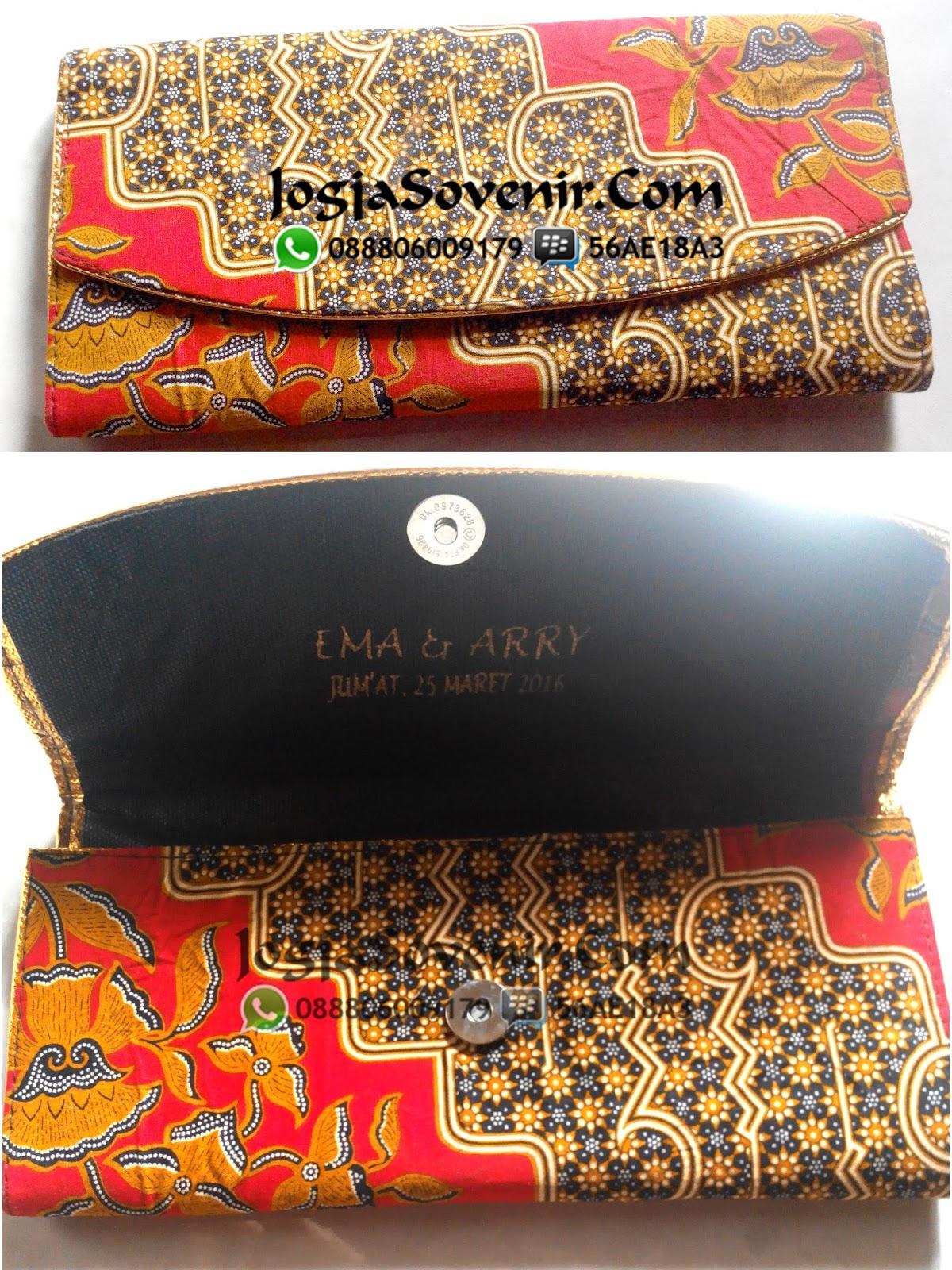Jual Souvenir Dompet Batik