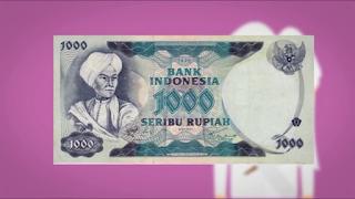 Uang Seribu Lama Gambar Pangeran Diponogoro