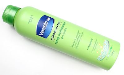Vaseline Intensive Care Spray Moisturiser Aloe Soothe