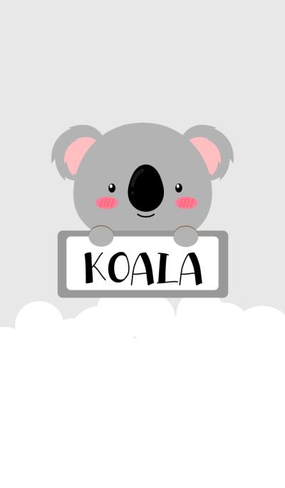 Simple Cute Love Koala Theme