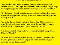 Status Whatsapp Terbaru Your Short Blog Description Here