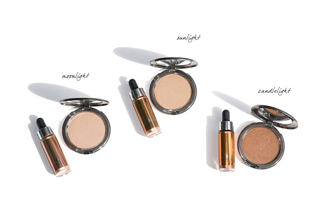 Cover FX The Perfect Light Highlighting Powder and Custom Enhancer Drops